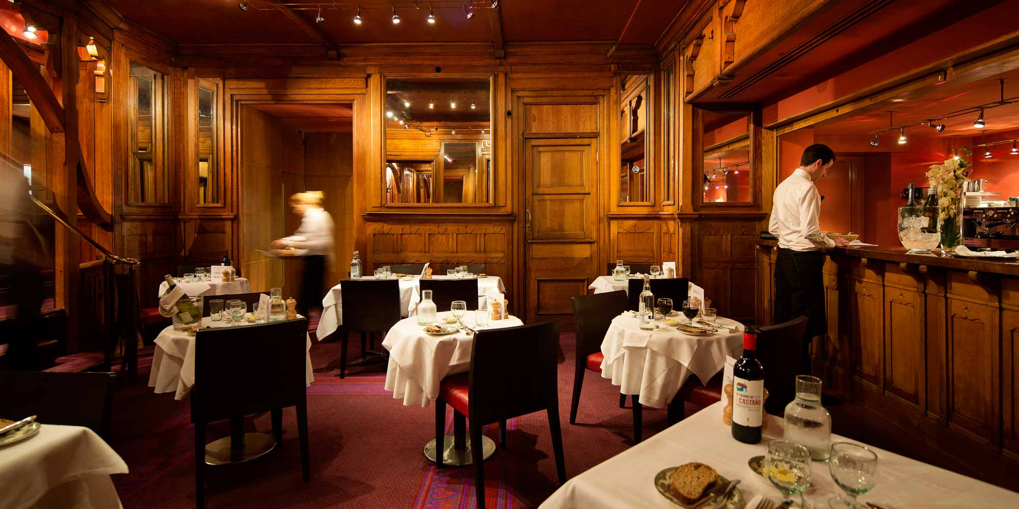 Hospitality and private events english national opera for Best private dining rooms west end london