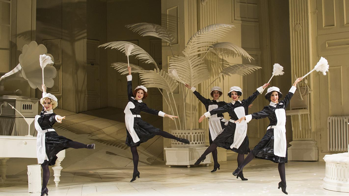 ENO's The Mikado, dancing maids
