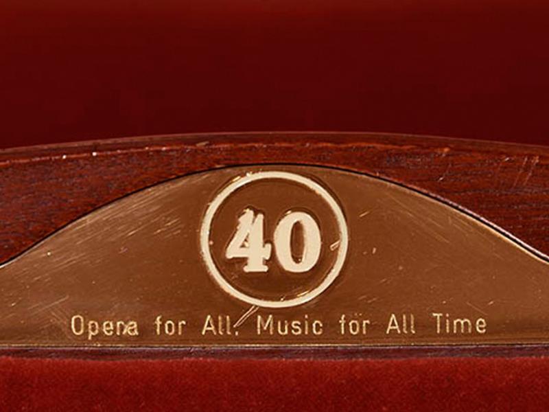 Seat plaque