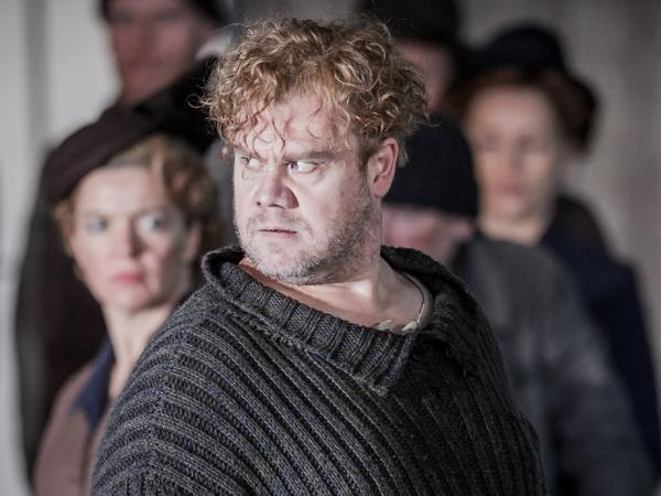 ENO's Peter Grimes - Stuart Skelton as Peter Grimes. Photo by Robert Workman