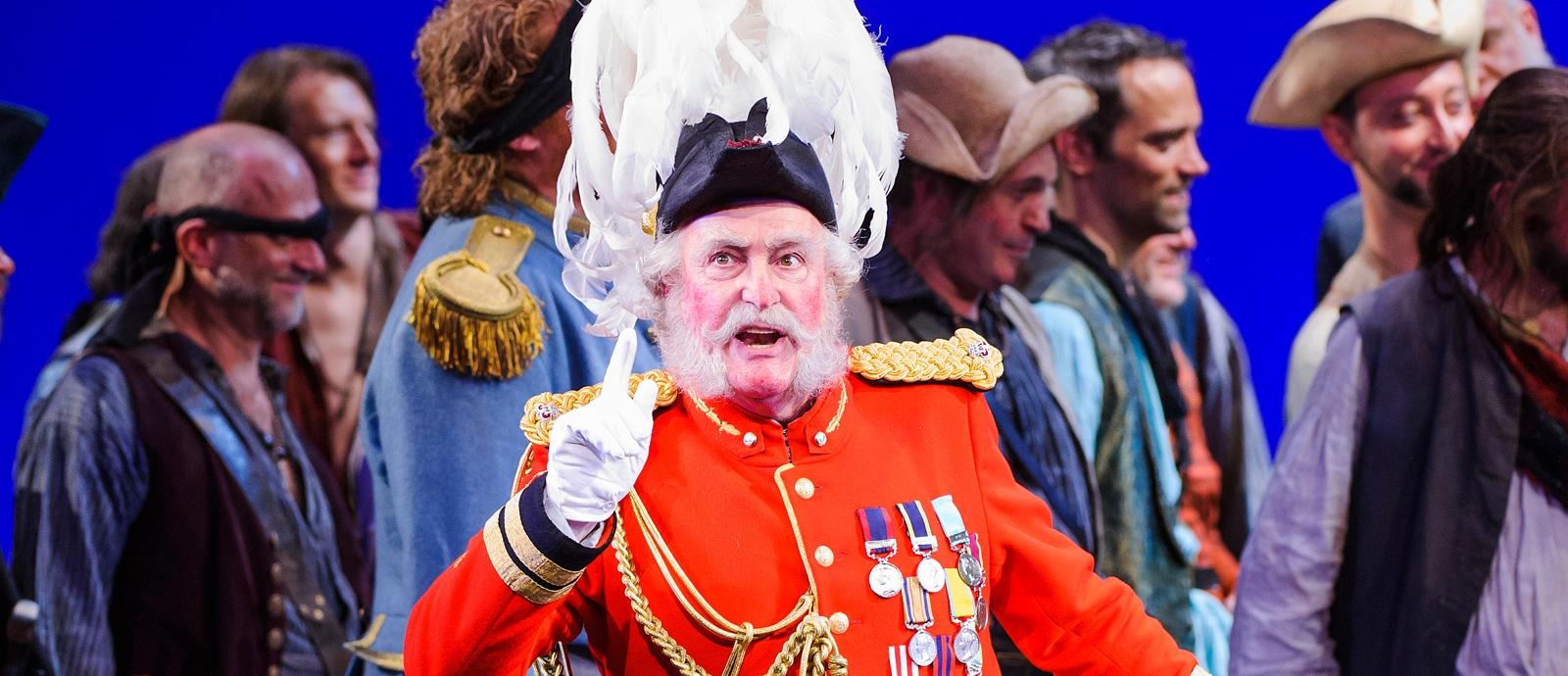 ENO's The Pirates of Penzance - Andrew Shore as The Major General. Photo by Tristram Kenton