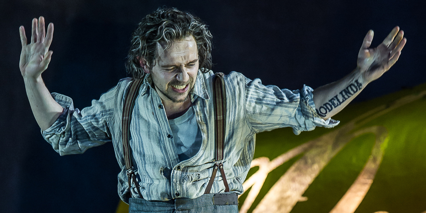 ENO Rodelinda - Iestyn Davies as Bertarido. Photo by Clive