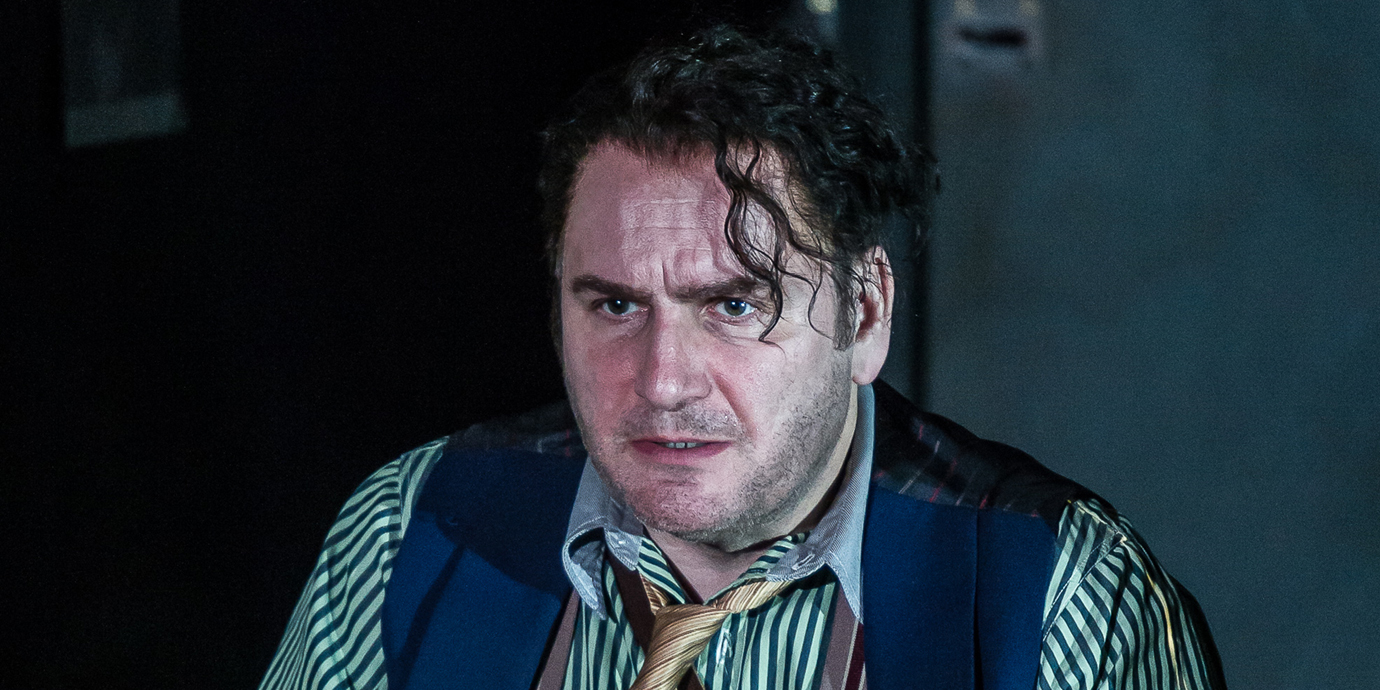 ENO's Rodelinda - John Mark Ainsley as Grimoaldo. Photo by Clive Barda