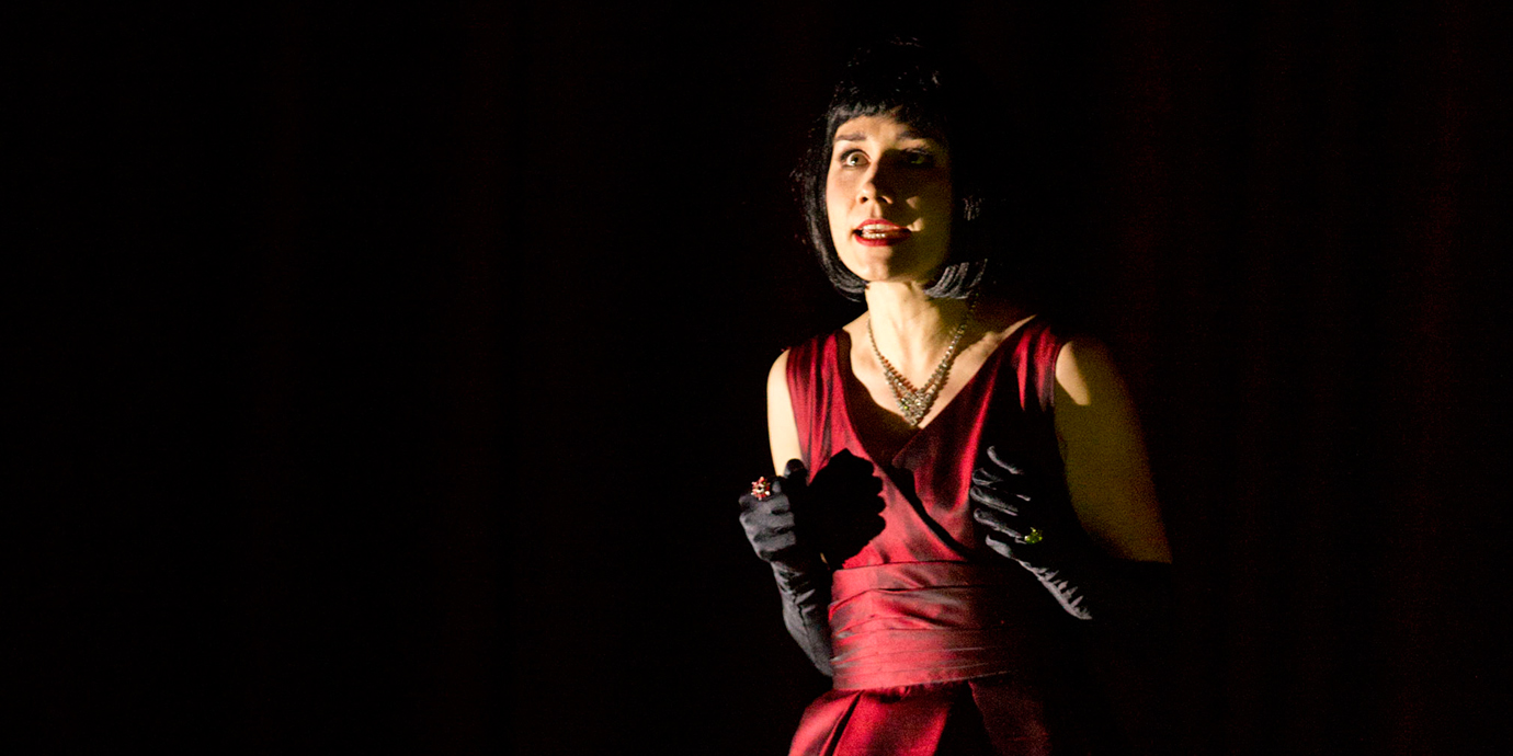 ENO's La traviata - Elizabeth Zharoff as Violetta, Photo by Donald Cooper.