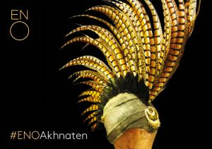 Feathered head dress from Akhnaten