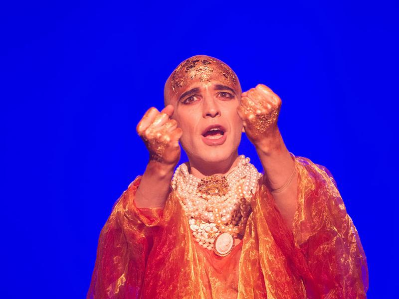Anthony Roth Constanzo as Akhanten