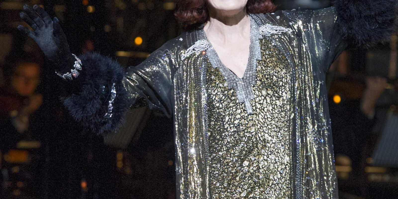 Glenn Close (Norma Desmond). Photo by Richard Hubert Smith