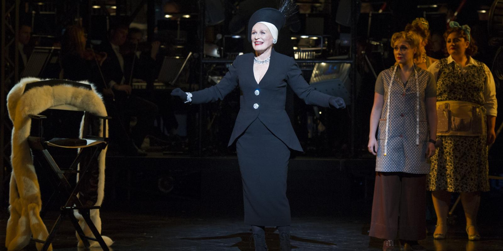 Centre Glenn Close (Norma Desmond). Photo by Richard Hubert Smith
