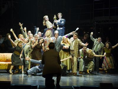 The Sunset Boulevard Company. Photo Richard Hubert Smith.