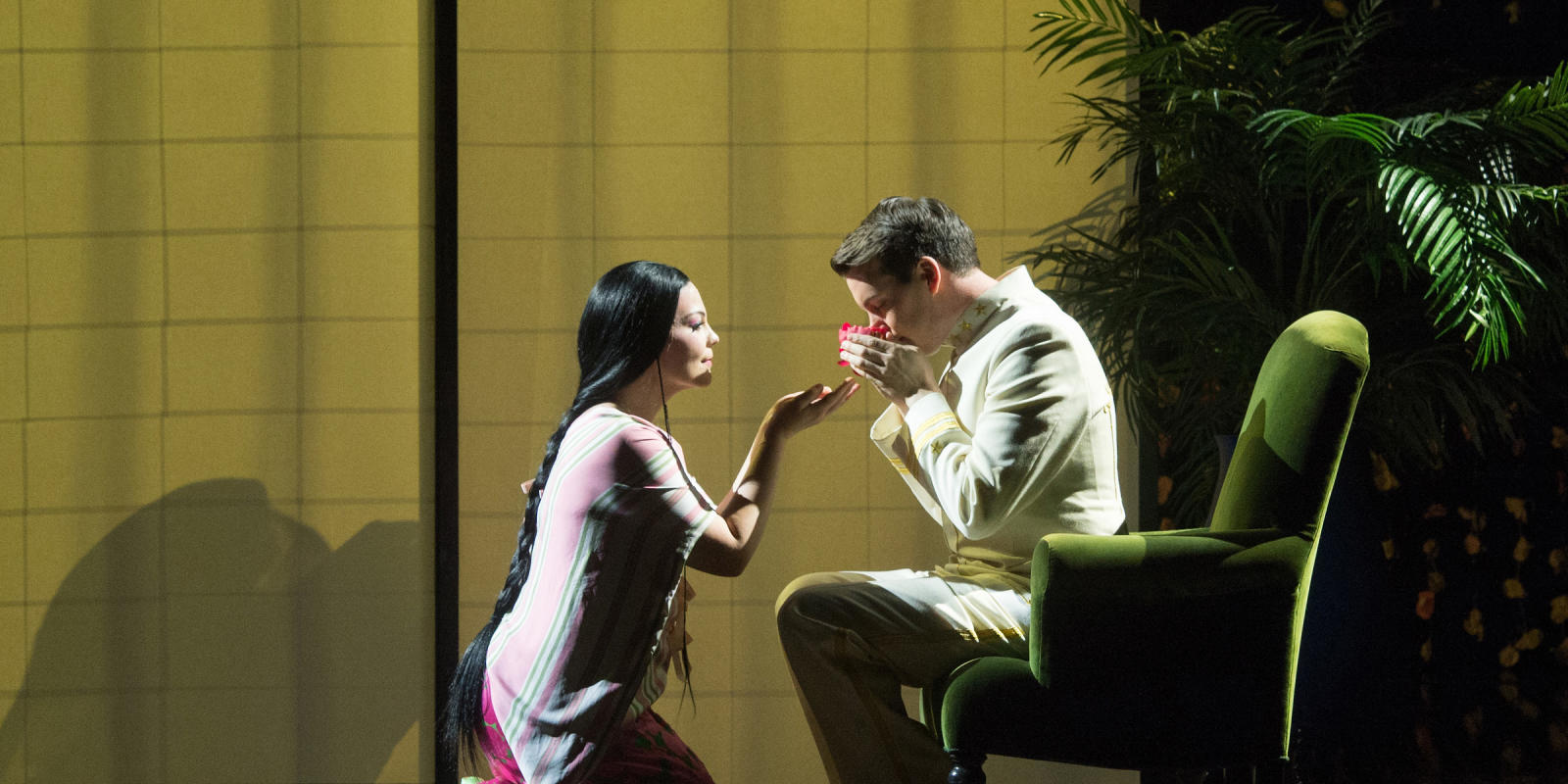 ENO Madam Butterfly Rena Harms and David Butt Philip (c) Tom Bowles
