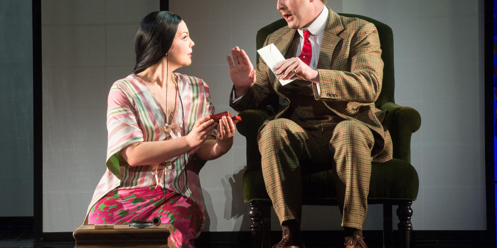 ENO Madam Butterfly Rena Harms and George von Bergen (c) Tom Bowles