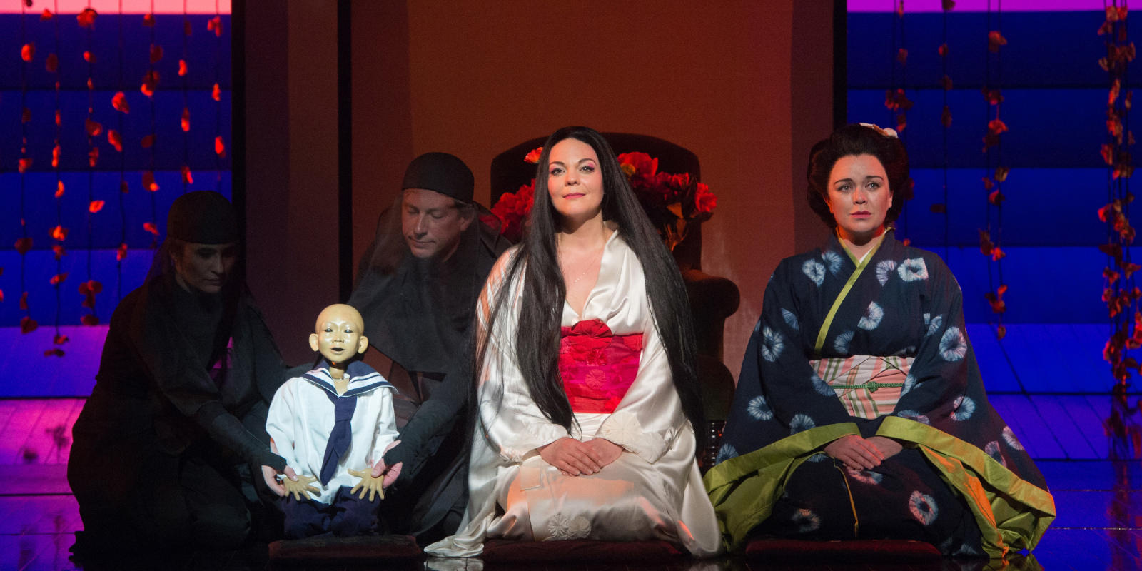 ENO Madam_Butterfly Sorrow with Rena Harms and Stephanie Windsor-Lewis 1 (c) Tom Bowles