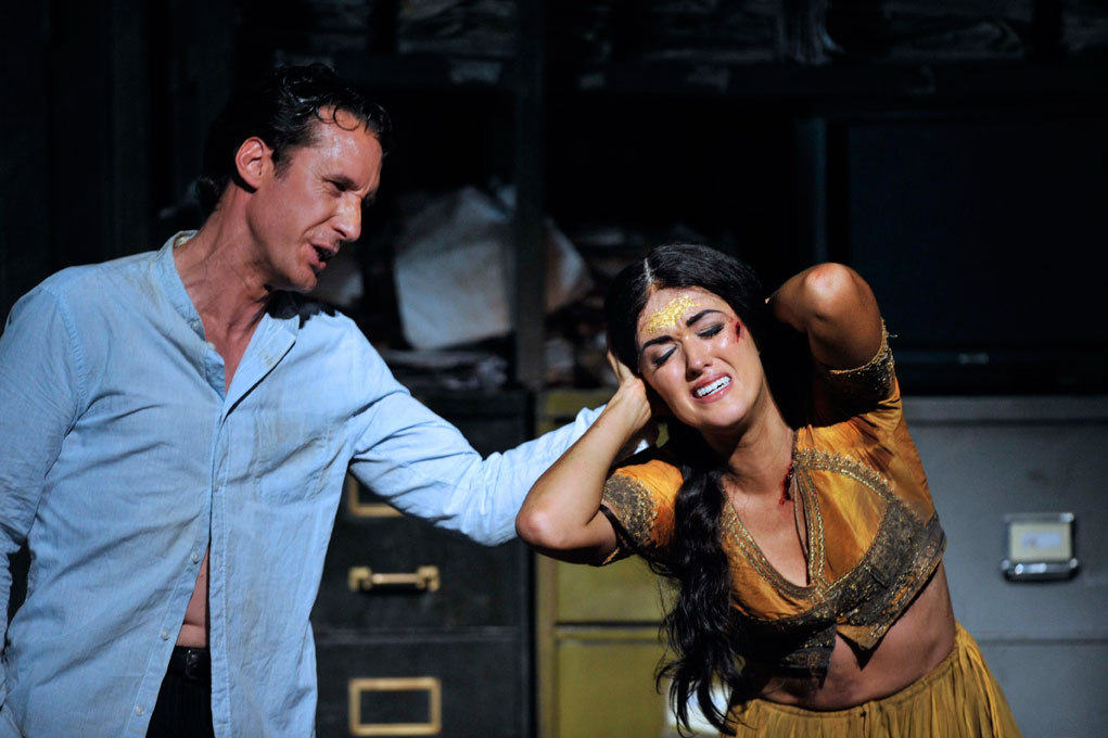 Jacques Imbrailo and Claudia Boyle