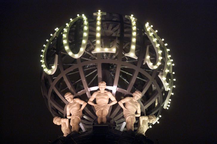 London Coliseum globe