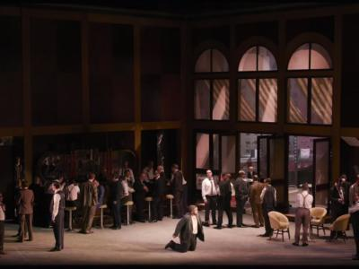 Jonathan Miller's production of Verdi's Rigoletto - at ENO until 28 February