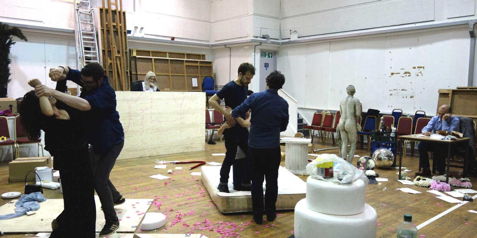 ENO Studio Live Trial By Jury Rehearsals