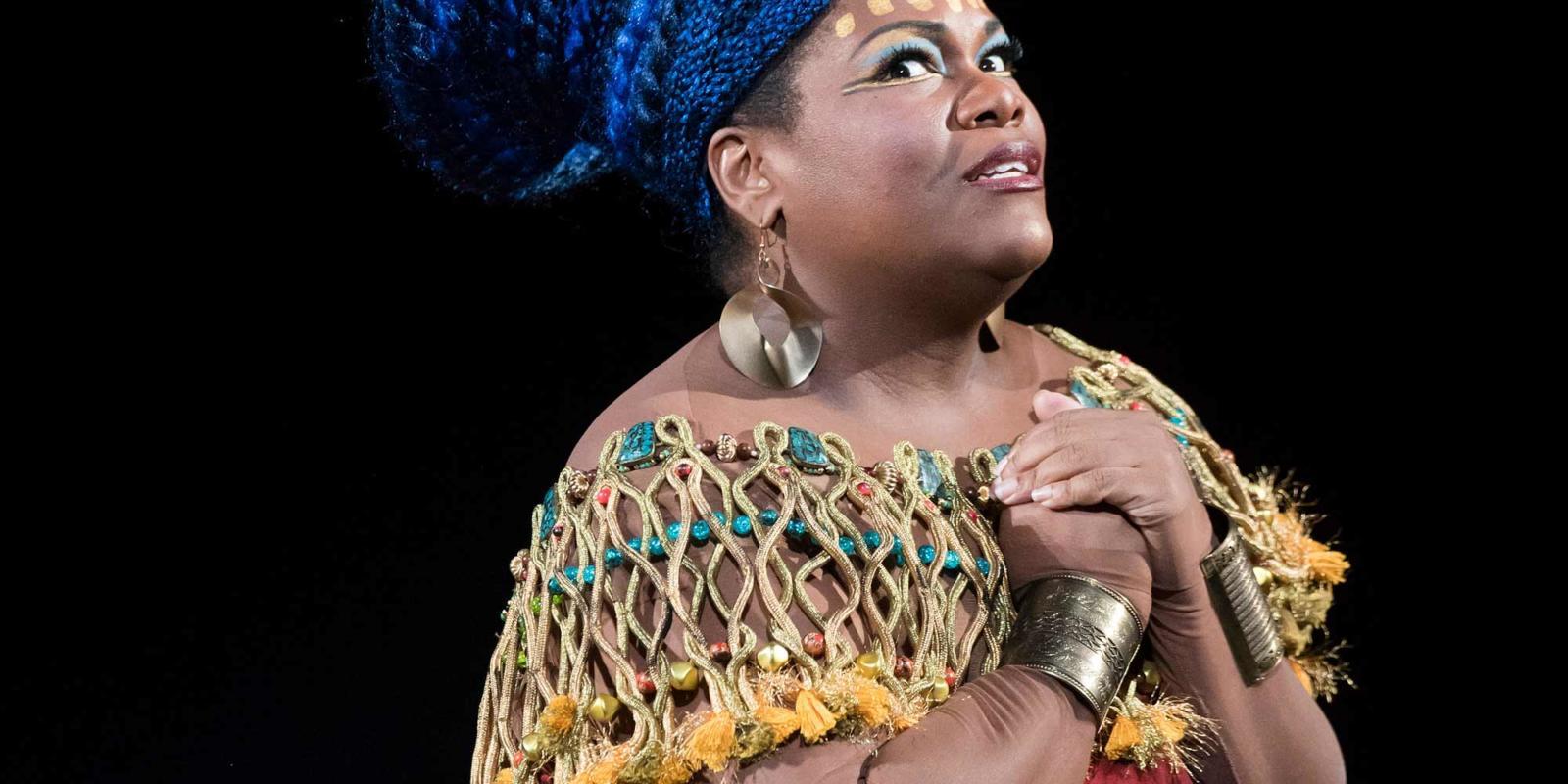 ENO Aida: Latonia Moore (c) Tristram Kenton