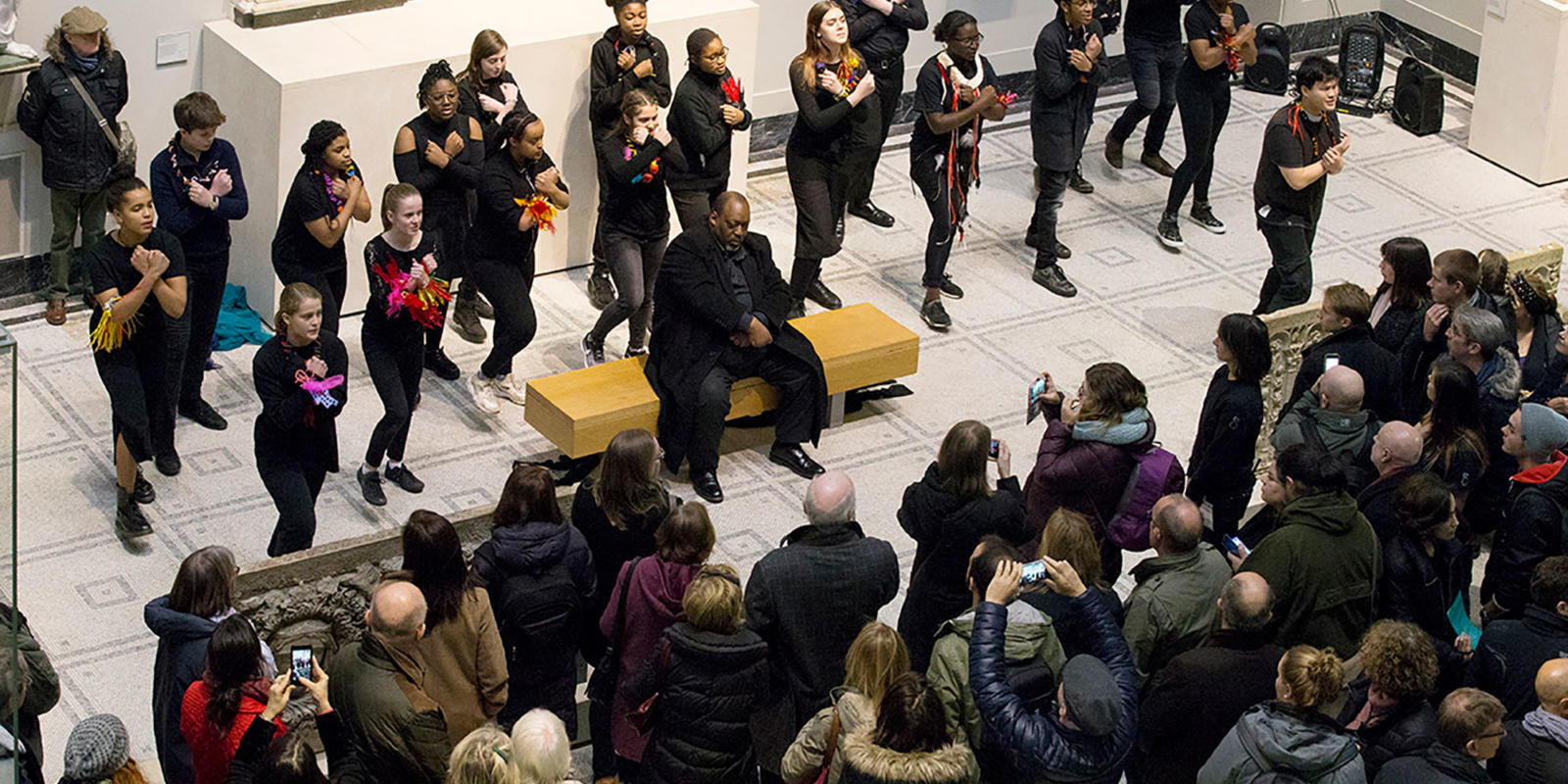 Towards another world performance at the V&A