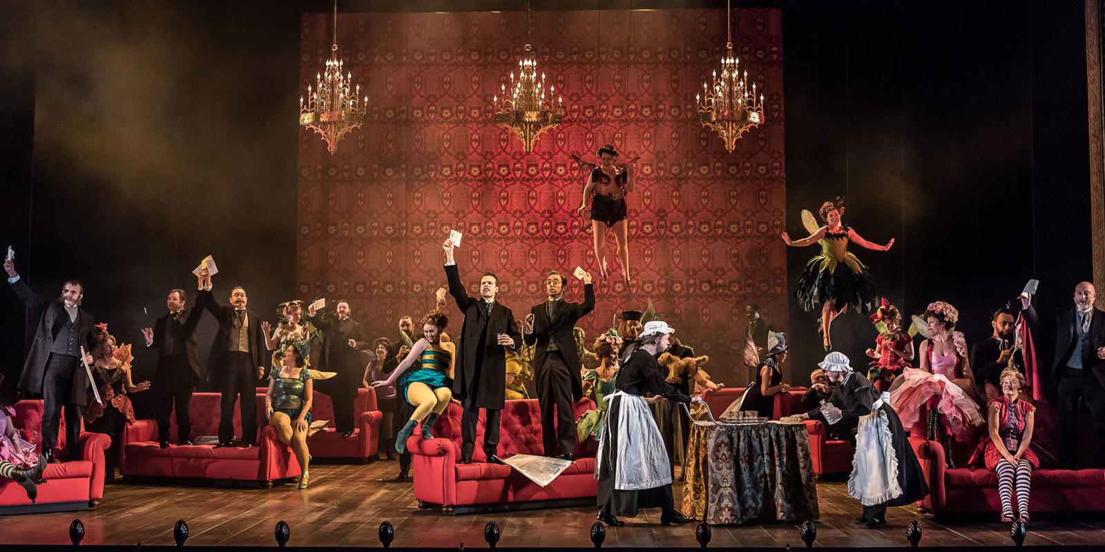 ENO Iolanthe ENO Chorus and Cast (c) Clive Barda