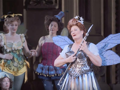Yvonne Howard singing Oh, foolish fay from Cal McCrystal's production of Gilbert and Sullivan's Iolanthe