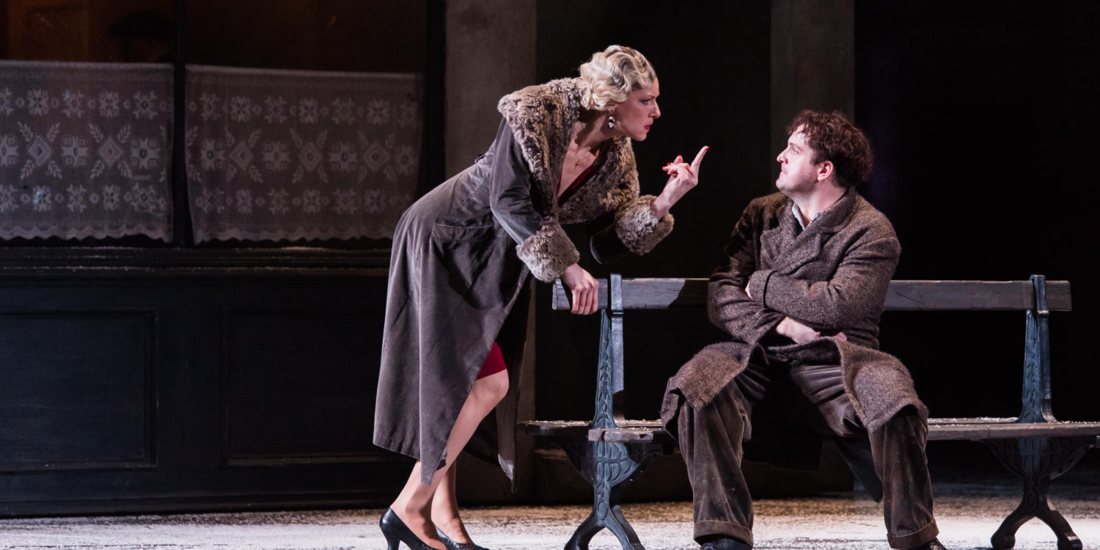 ENO La boheme Jennifer Holloway George von Bergen (c) Thomas Bowles