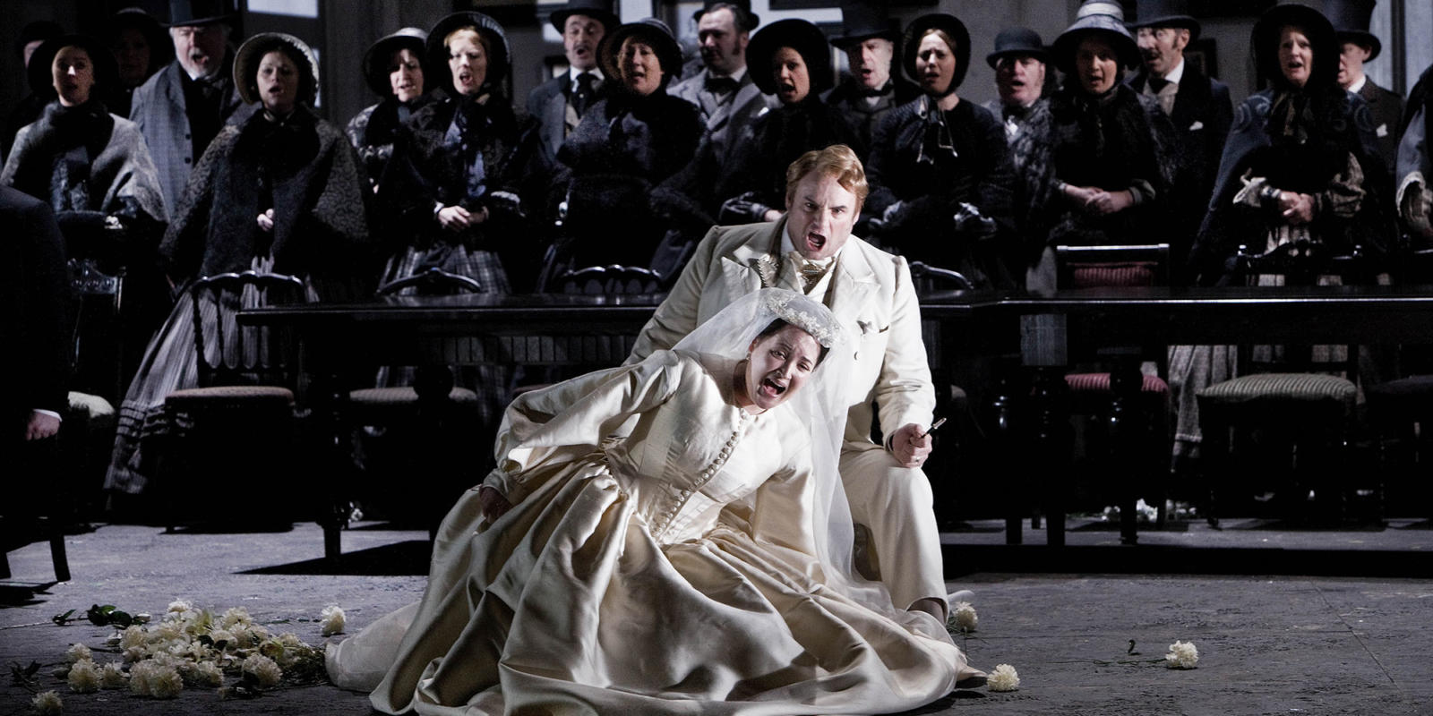 ENO Lucia di Lammermoor Anna Christy Dwayne Jones (c) Robert Workman