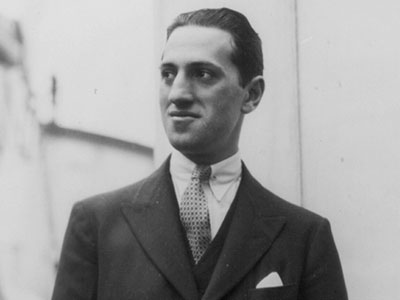 Composer George Gershwin in the 1920s