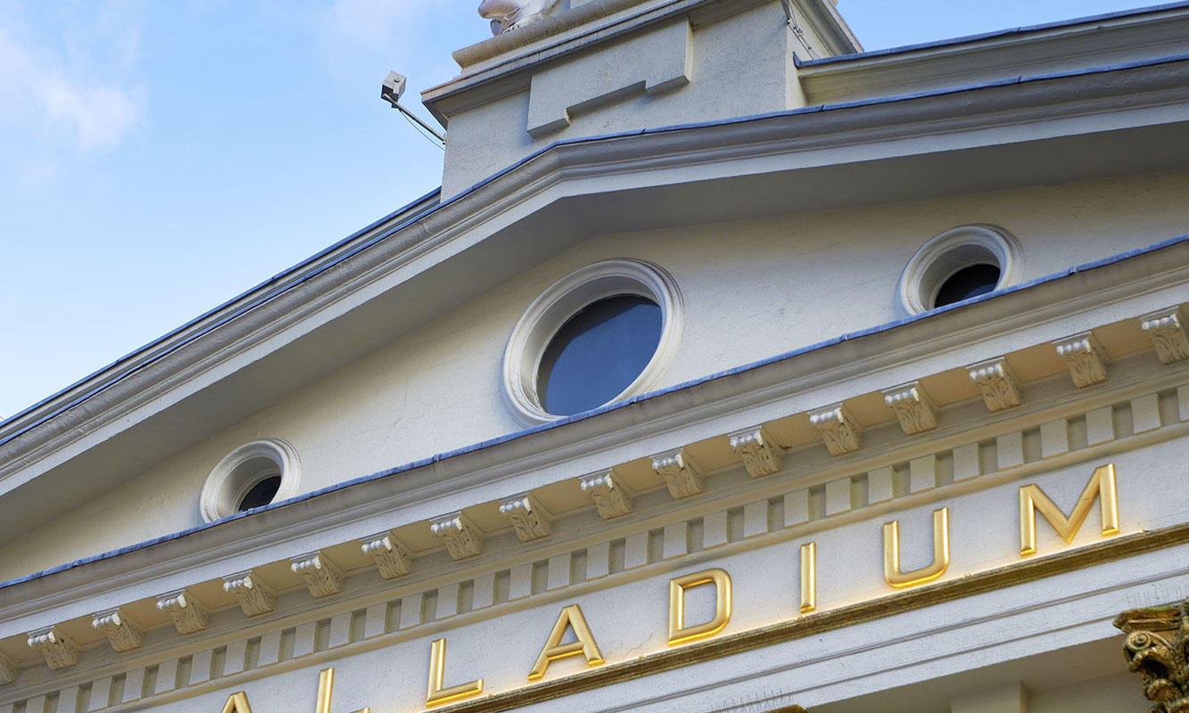 London Palladium exterior (c) Peter Dazeley