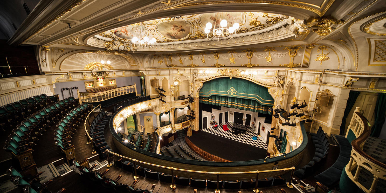 Buxton Opera House auditorium (c) Luke Hodgkins