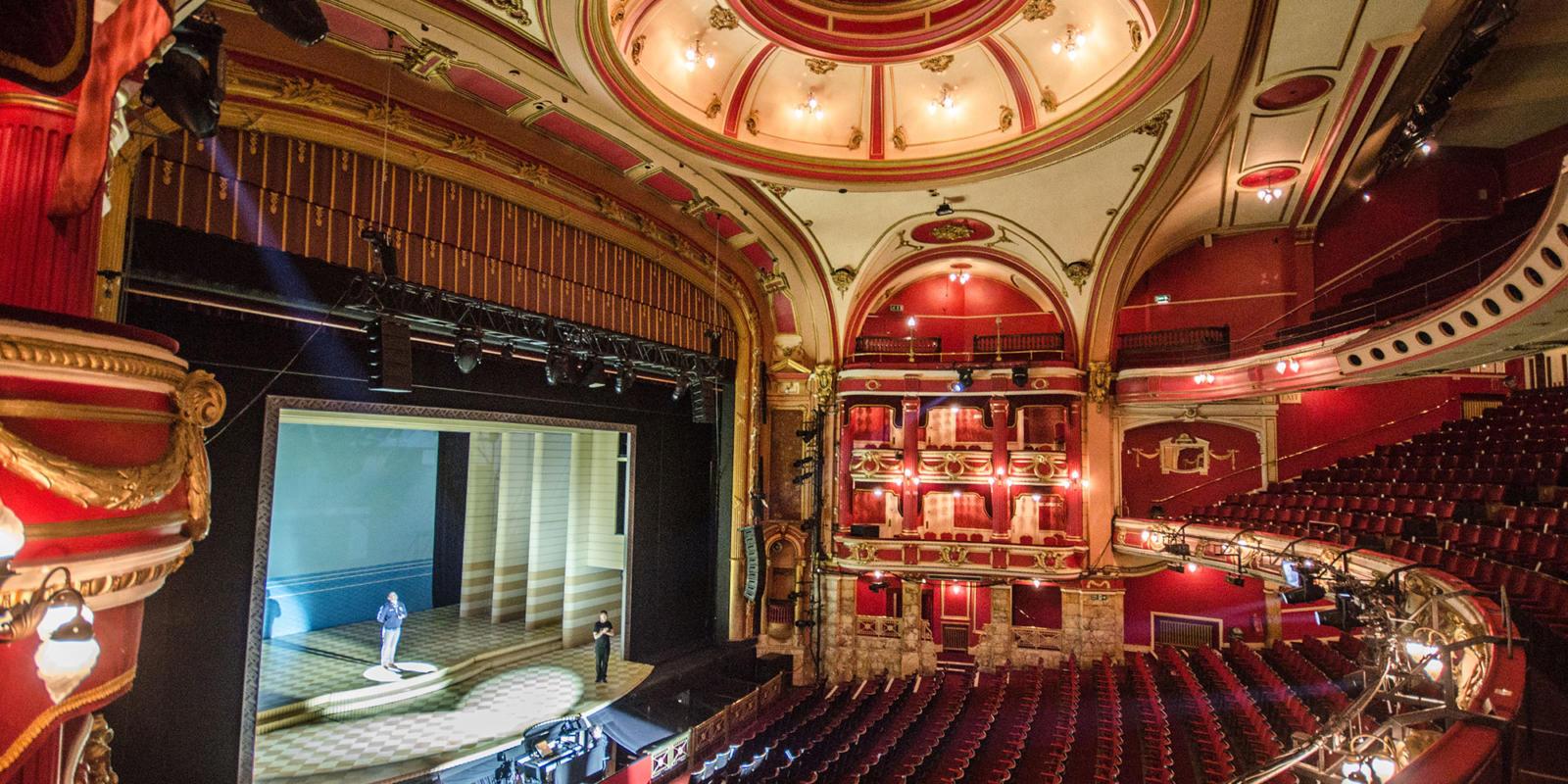 Bristol Hippodrome auditorium