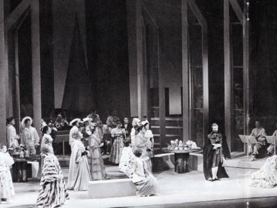 Opening night of Don Giovanni, 1968 (c) Houston Rogers