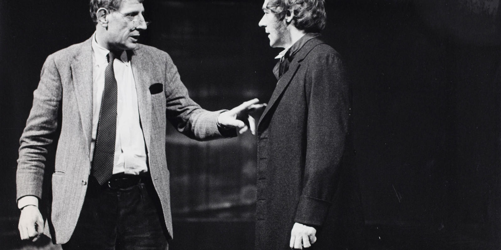 ENO The Turn of the Screw 1979: Director Jonathan Miller and Philip Langridge. With thanks to Gareth Roberts