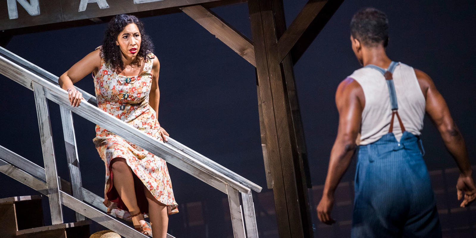 ENO Porgy and Bess: Nicole Cabell Nmon Ford (c) Tristram Kenton