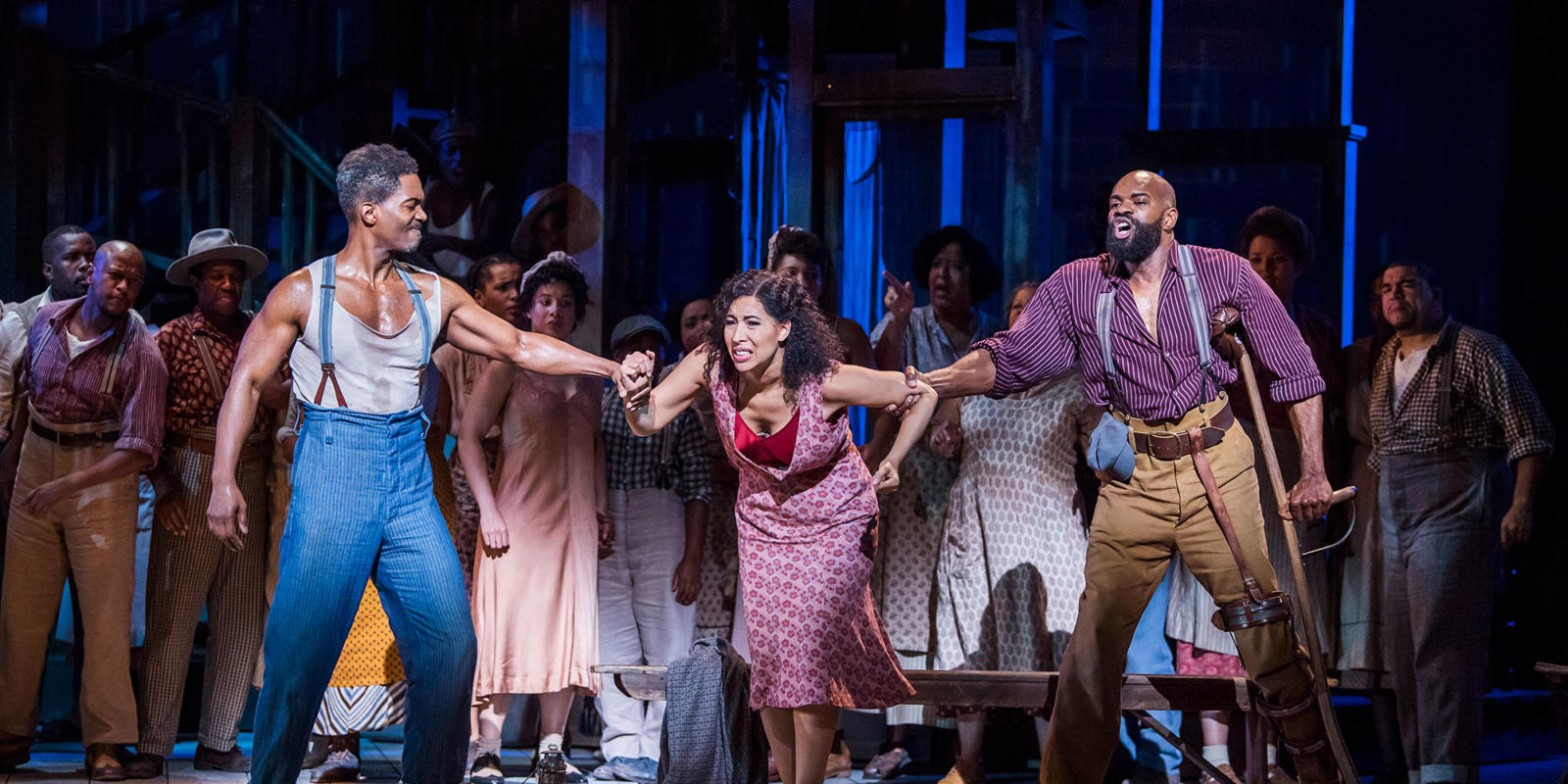 ENO Porgy and Bess Nmon Ford Nicole Cabell Eric Greene (c) Tristram Kenton