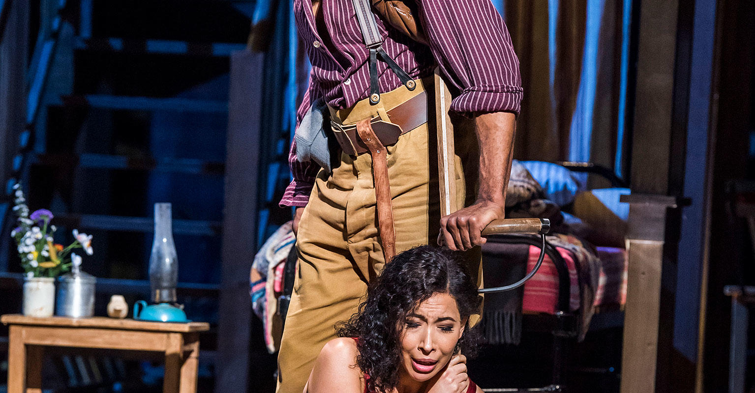 ENO Porgy and Bess: Eric Greene Nicole Cabell (c) Tristram Kenton