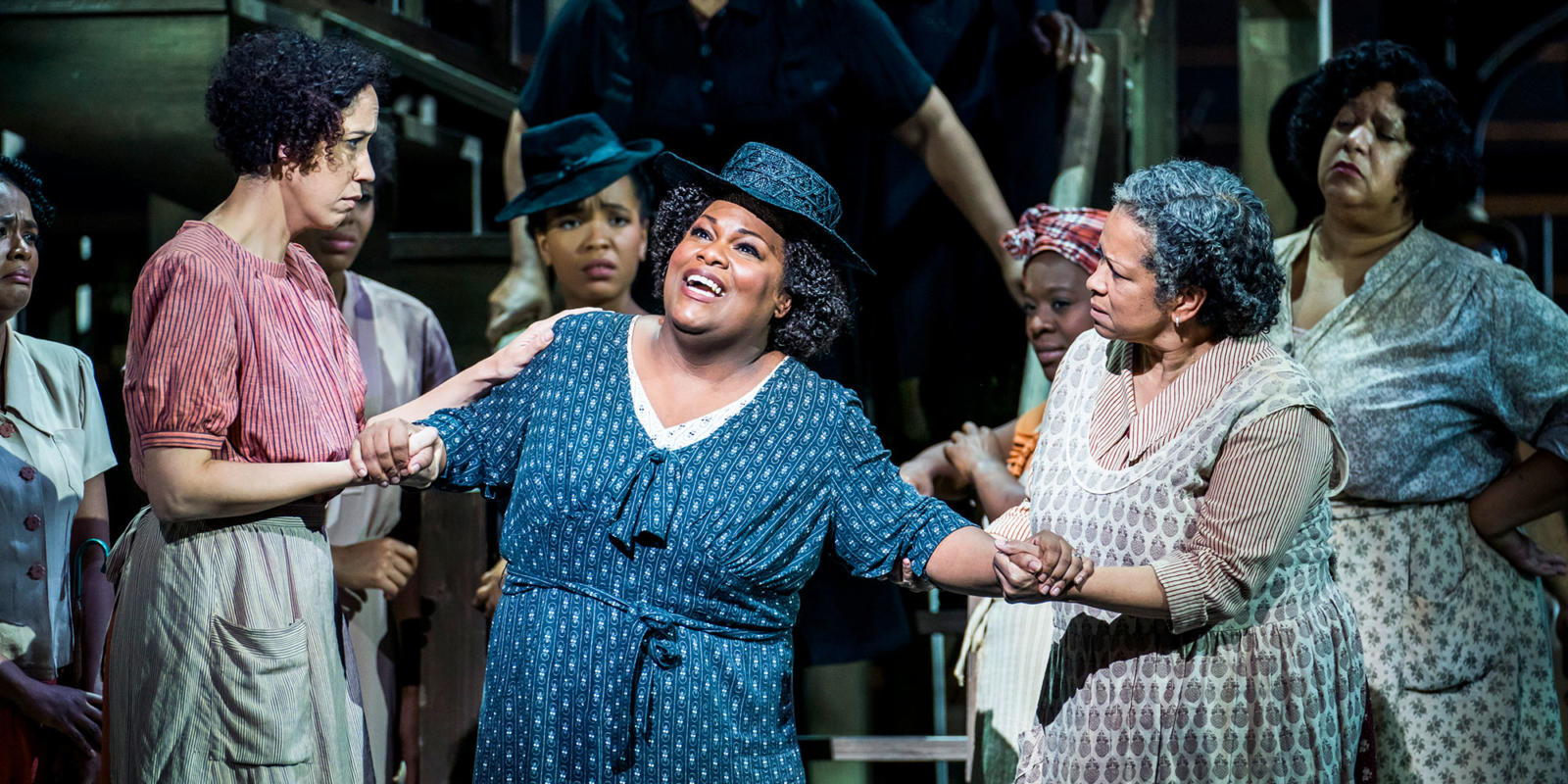 ENO Porgy and Bess: Latonia Moore (c) Tristram Kenton