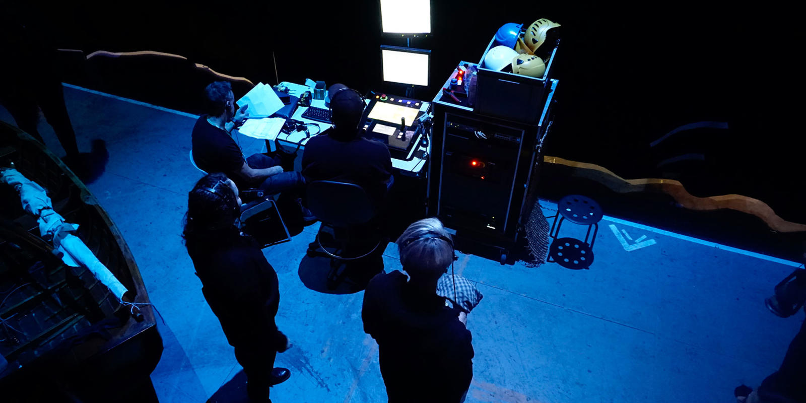 Members of the stage management team