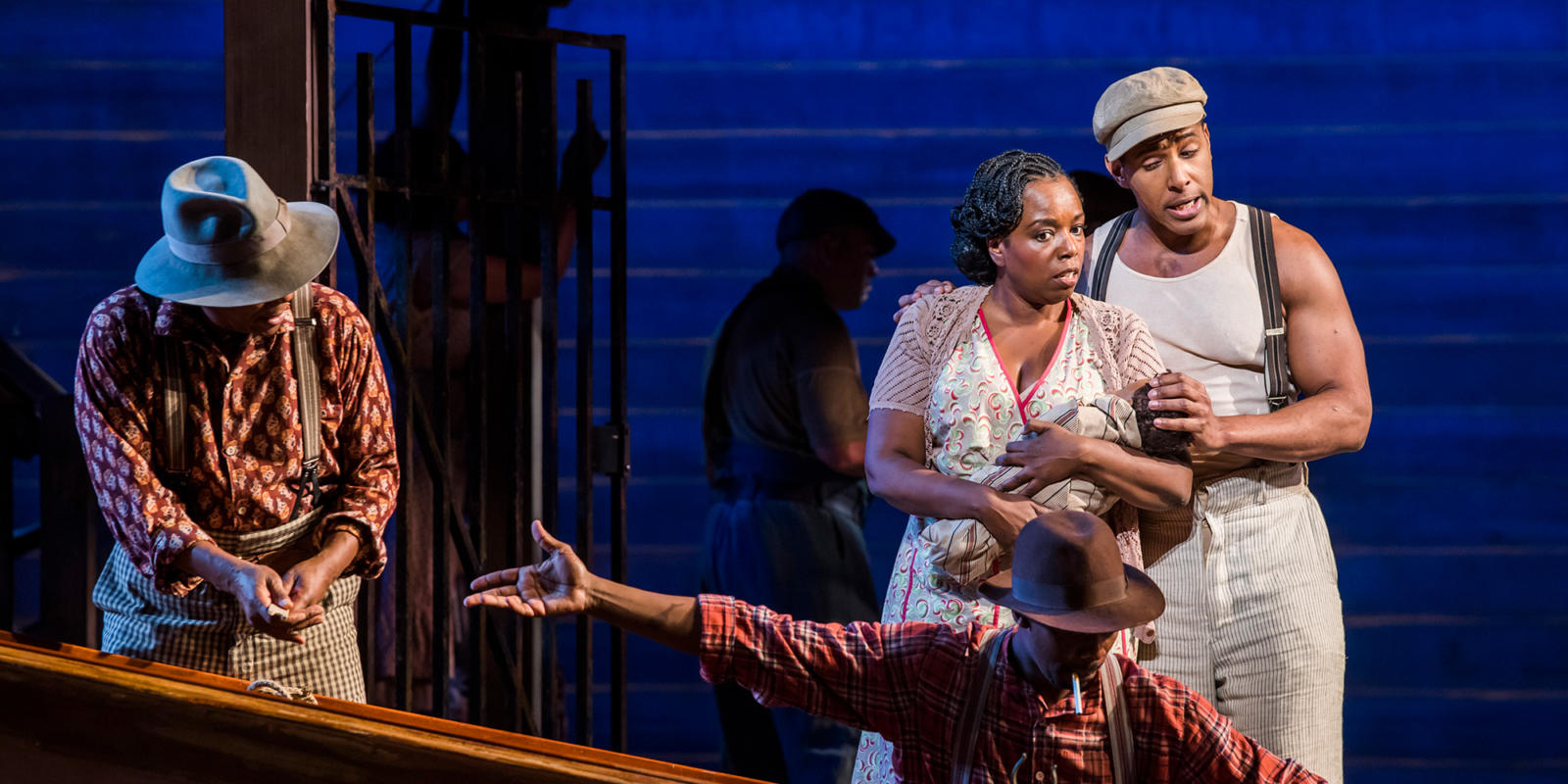 Nadine Benjamin as Clara in the 2018/19 season production of The Gershwins' Porgy and Bess (c) Tristram Kenton