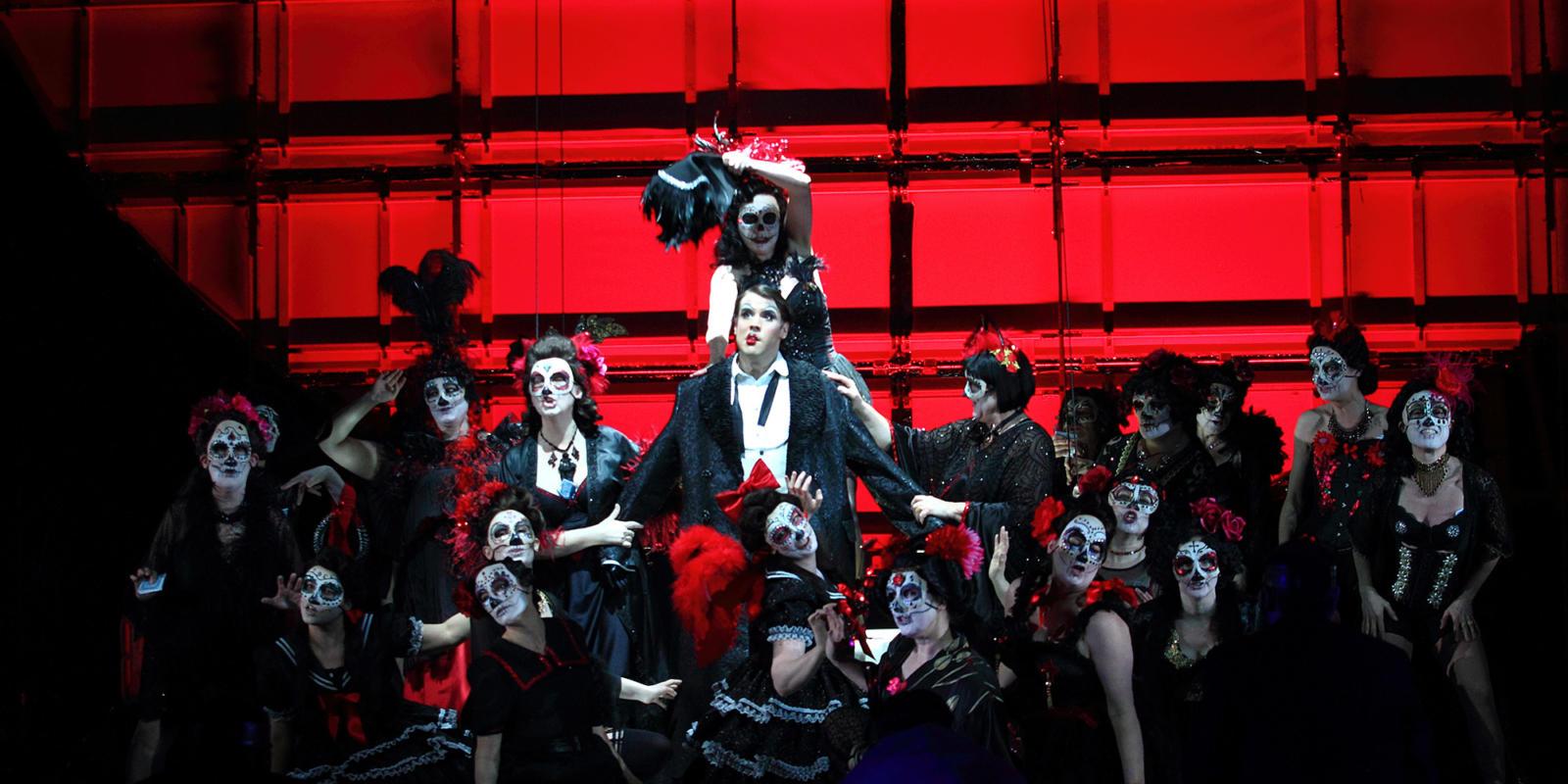 Bozidar Smiljanic as the Marquis in the 2017/18 season production of Verdi's La traviata