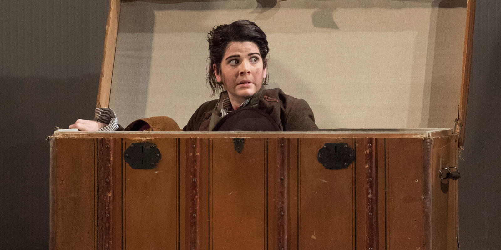 Katie Coventry as Cherubino in Mozart's The Marriage of Figaro.
