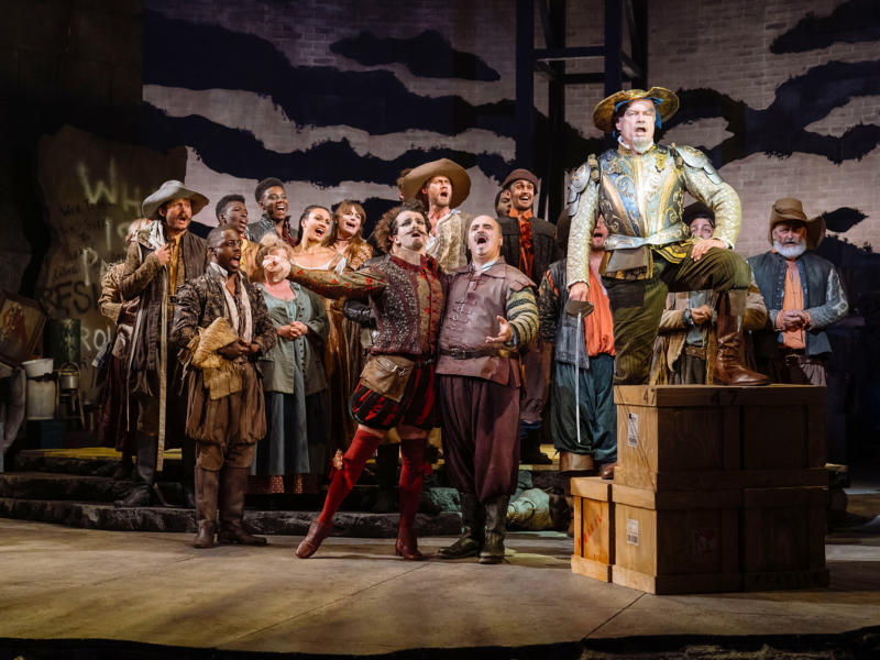 Man of La Mancha: Kelsey Grammer and ensemble
