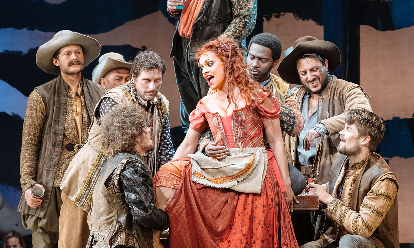 Man of La Mancha: Danielle de Niese and ensemble