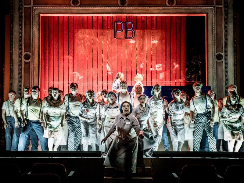 ENO Paul Bunyan at Alexandra Palace: Chorus (c) LLoyd Winters