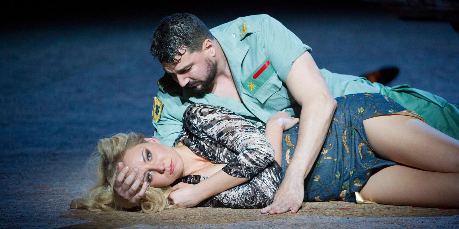 ENO Carmen 2015: Justina Gringyte, Eric Cutler (c) Alastair Muir