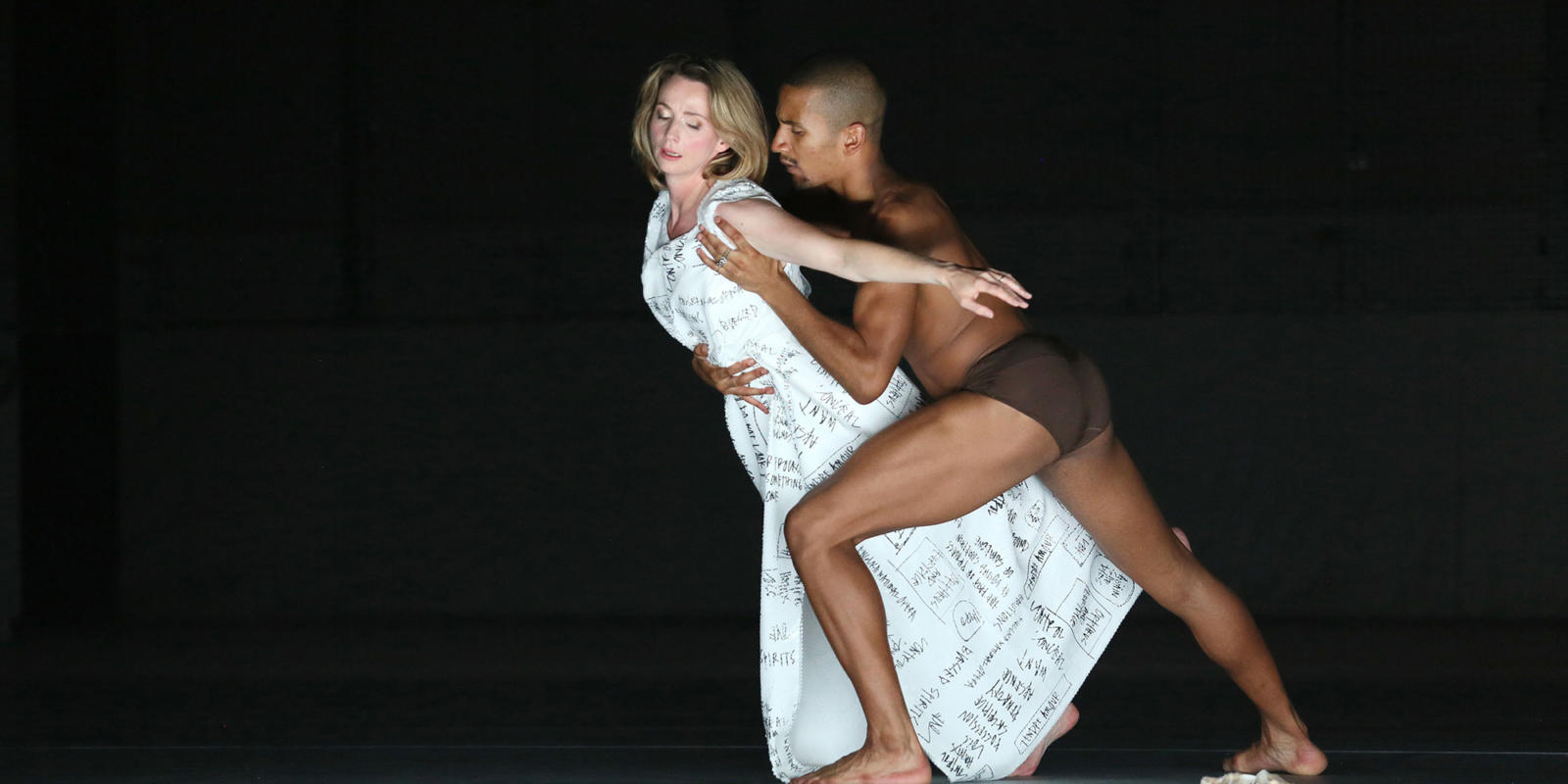 Sarah Tynan with male dancer