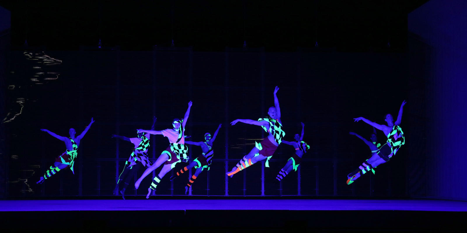 ENO1920 Orpheus and Eurydice: Dancers from studio Wayne McGregor