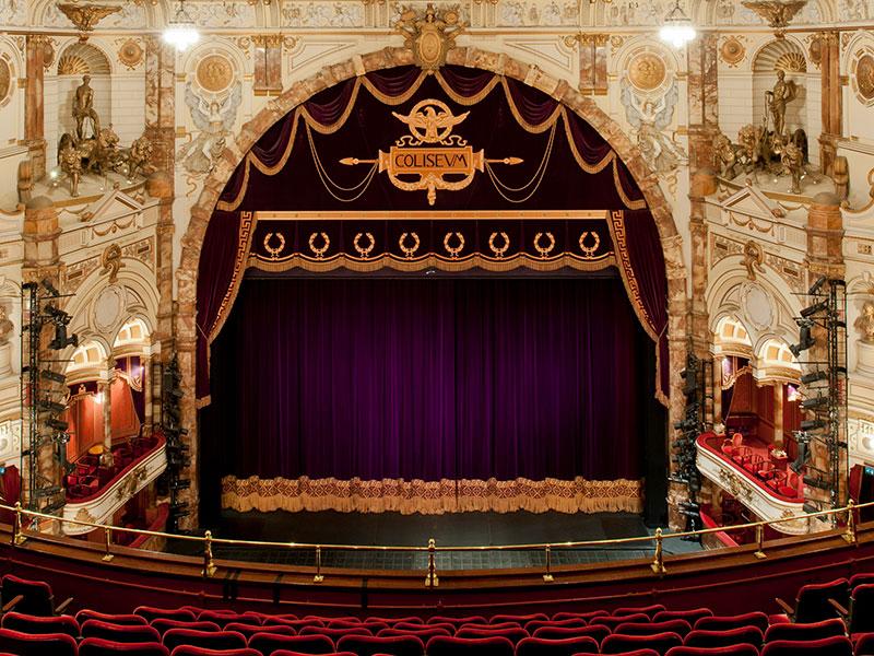 London Coliseum Stage